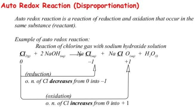 NCERT CBSE Standard 11 Chemistry Chapter 8 Redox Reactions ...