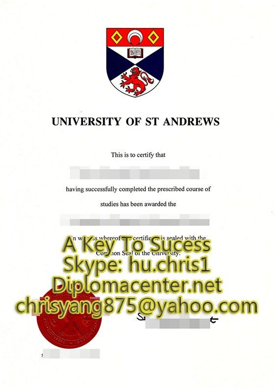 Order a University of St Andrews degree certificate,UK fake_buy a ...