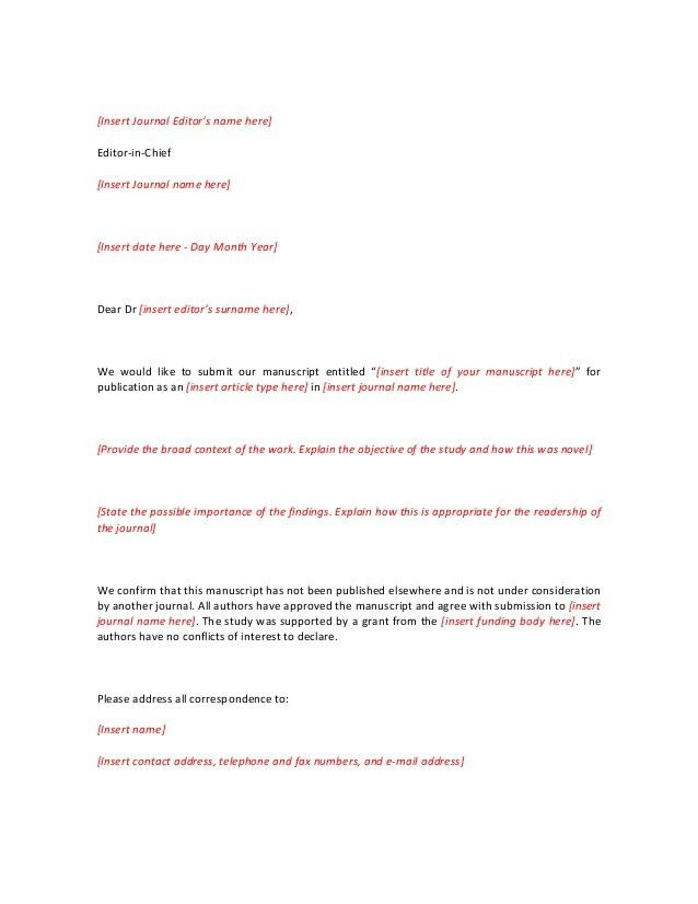 writing a journal cover letter free template aje american journal ...