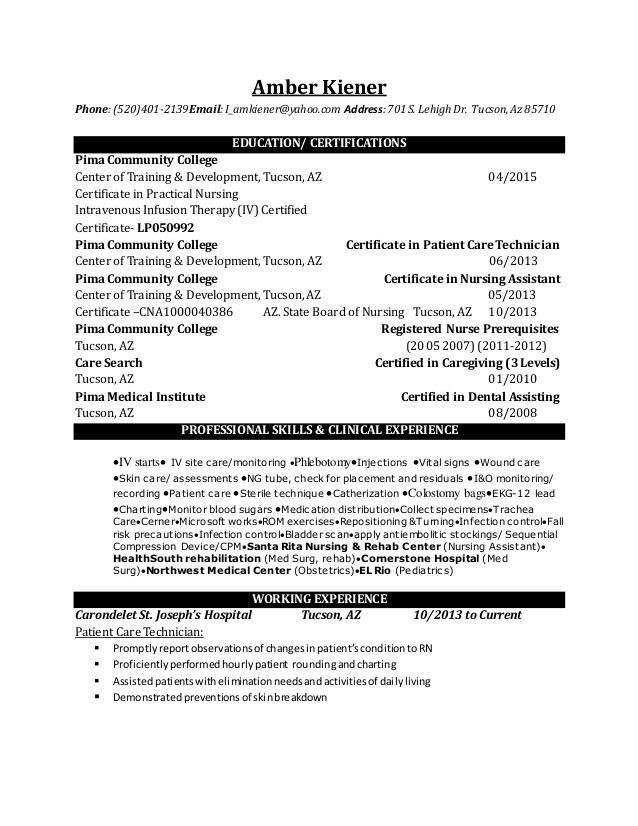 Download Lpn Resume | haadyaooverbayresort.com