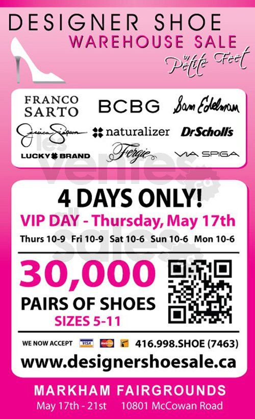 Toronto Designer Shoe Sale   allsales.ca