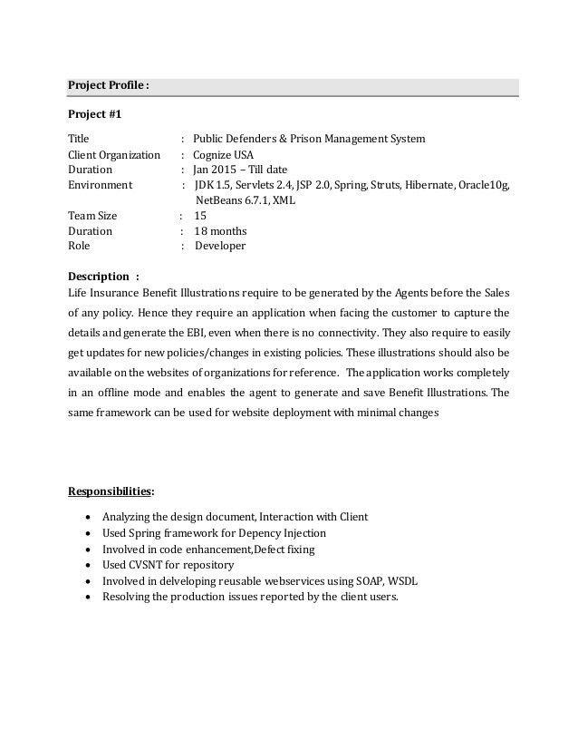 Experienced Resume