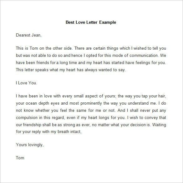 Free Sample Love Letters To Wife. Sample Love Letters To Boyfriend ...
