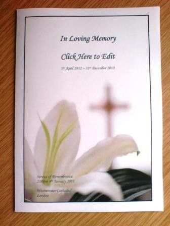 Downloadable Funeral Bulletin Covers | Download the free template ...