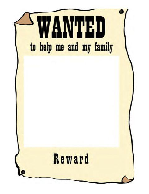 Wanted Poster Templates. 7 free wanted poster templates psd design ...