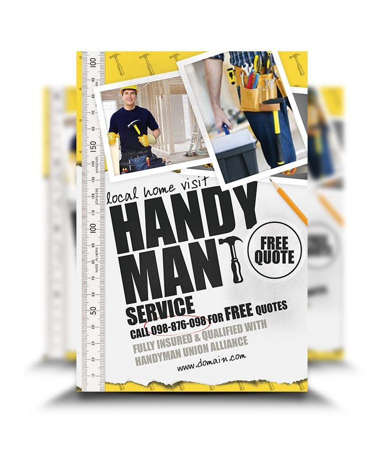 Handyman Flyer - graphicsflood.com