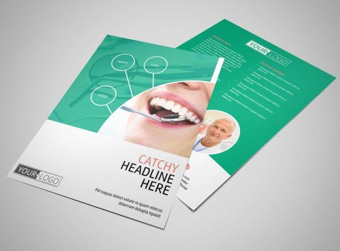 Premier Dental Clinic Flyer Template | MyCreativeShop