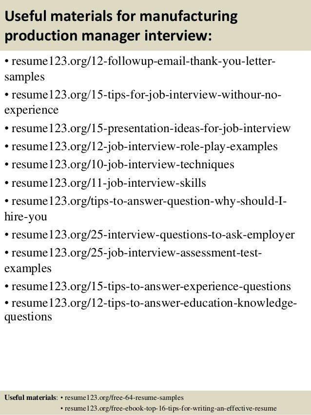 food production manager sample resume internet consultant cover ...