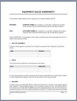 10 Best Images of Business Bill Of Sale Agreement - Bill of Sale ...