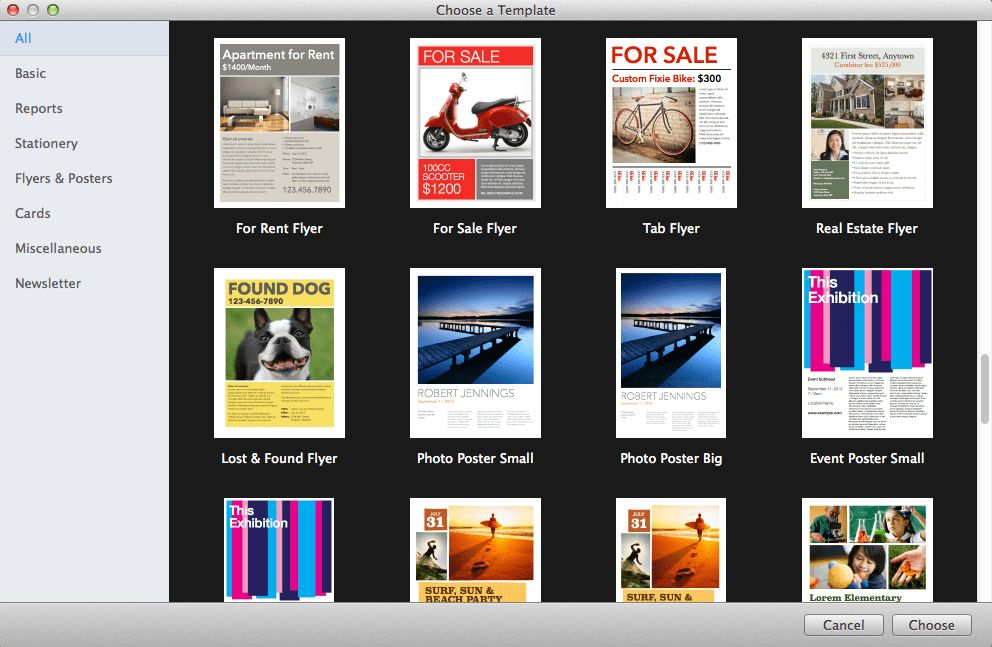 Creating Stunning Documents Using Apple Pages Templates — Allgaier ...