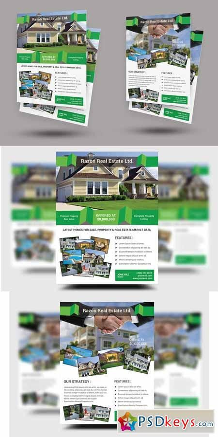 Real Estate Flyer Templates 227921 » Free Download Photoshop ...