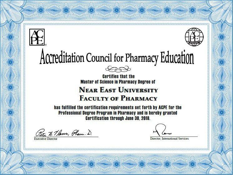 Certification – Near East University I neu.edu.tr