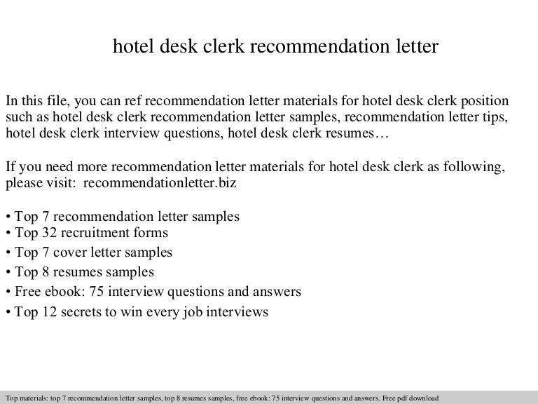 sample hotel desk clerk resume unforgettable front desk clerk