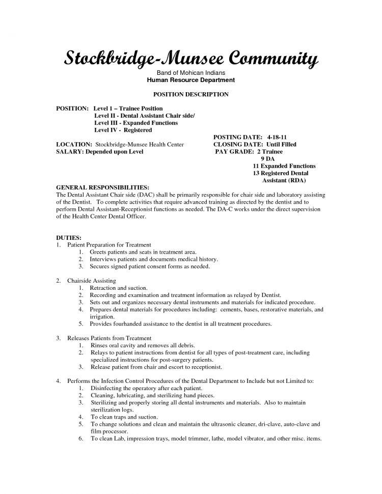 Medical Assistant Job Description And Salary Registered Medical ...