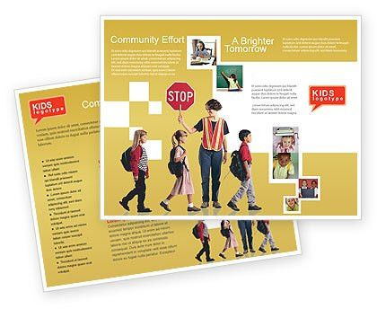 Social Education Brochure Template Design and Layout, Download Now ...