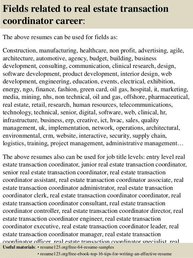 realtor resume samples