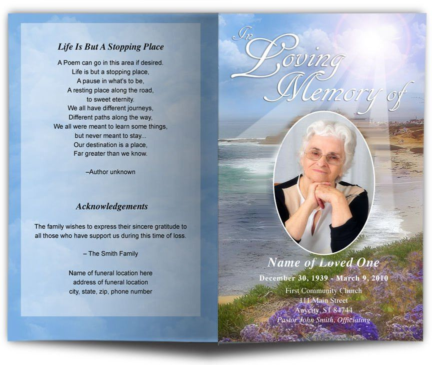 Celebration Of Life Templates - Contegri.com