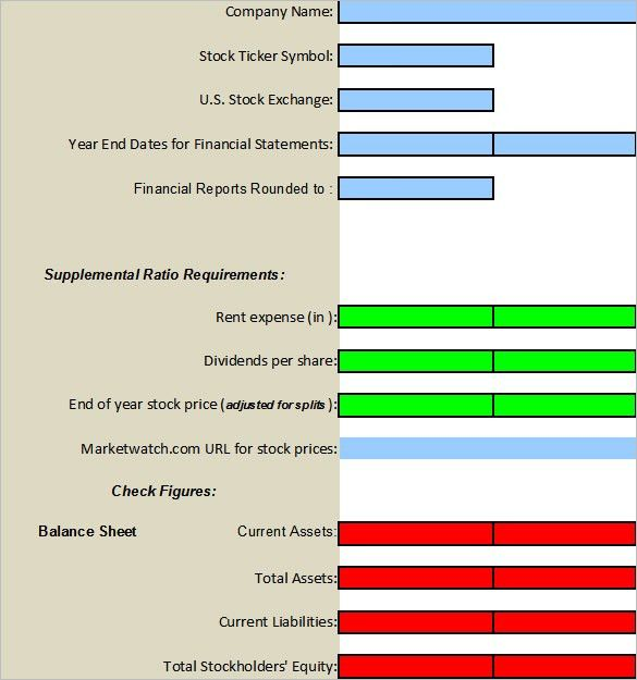Financial Analysis Templates - 7+ Free Word, Excel, PDF Documents ...