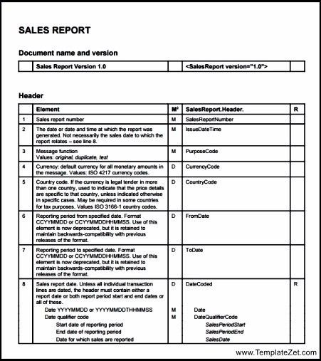 Sales Visit Report Template | TemplateZet
