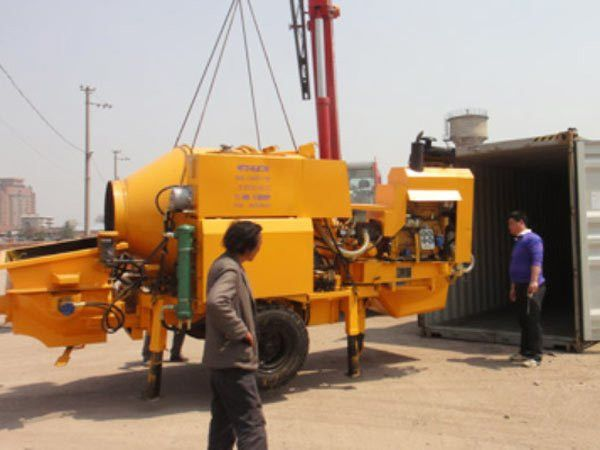 Concrete Mixer Pump For Mixing &Transferring Liquid Concrete ...