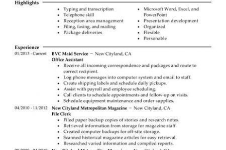 Narrative Resume Best Template Collection, Narrative Resume ...