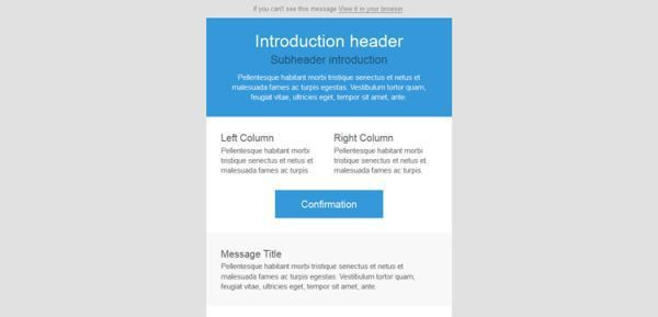 5 Top Responsive Free HTML Email Templates   HTML/CSS   Web Design ...