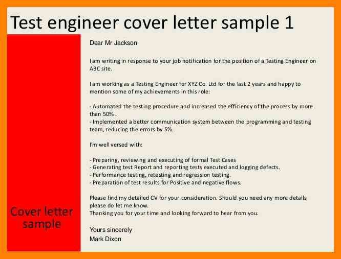 Linux Test Engineer Cover Letter