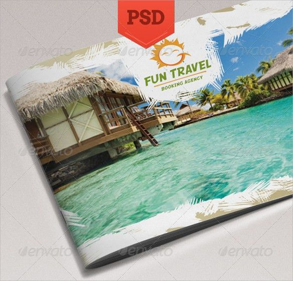 Travel Brochure Template - 22+ Download in Vector EPS, PSD