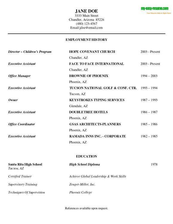Resume For Interview Sample | haadyaooverbayresort.com