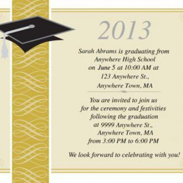 Graduation Ceremony Invitation | christmanista.com
