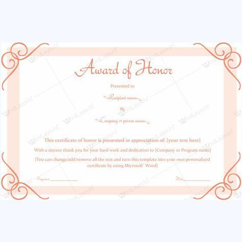 Years Of Service Award Templates #award #awardcertificate ...