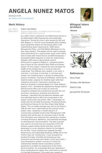 bilingual architect resume 16 free sample bilingual architect