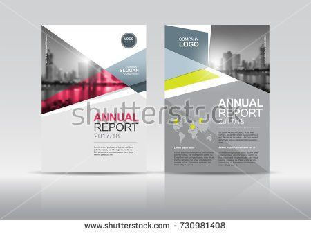 Cover Design Template Annual Report Cover Stock Vector 698301451 ...
