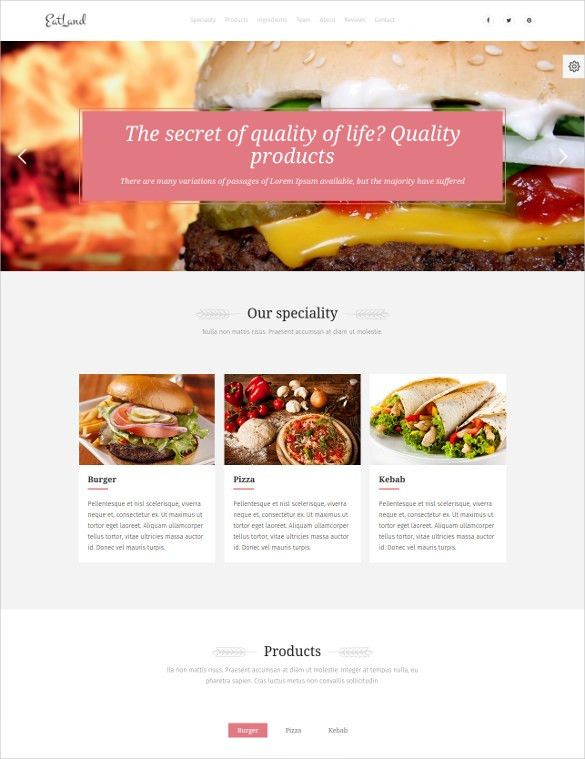 29+ Grocery Store Website Themes & Templates   Free & Premium ...