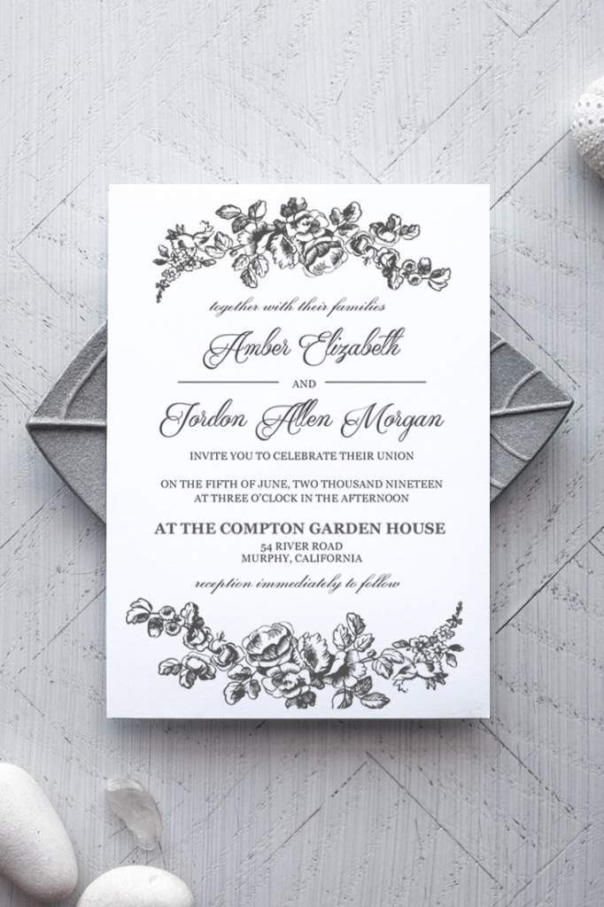 Wedding Invitation Templates Word | Wedding Invitation Templates