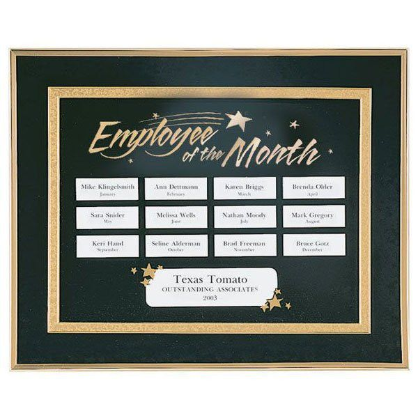 Perpetual Recognition Program - Employee of the Month at Baudville.com