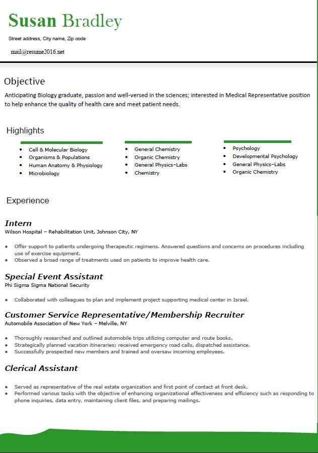 Resume Format Word [Template.billybullock.us ]