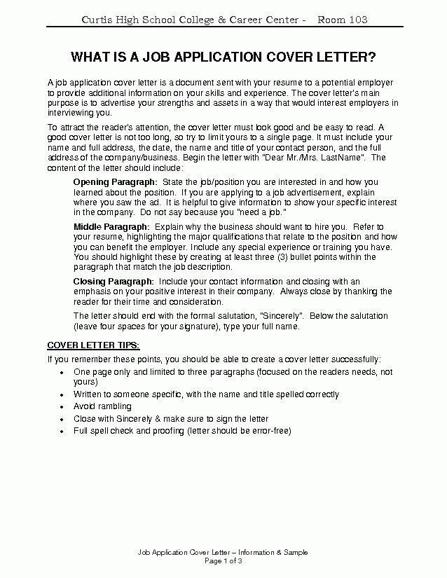 Create A Cover Letter. 8+ How To Create A Cover Letter ...