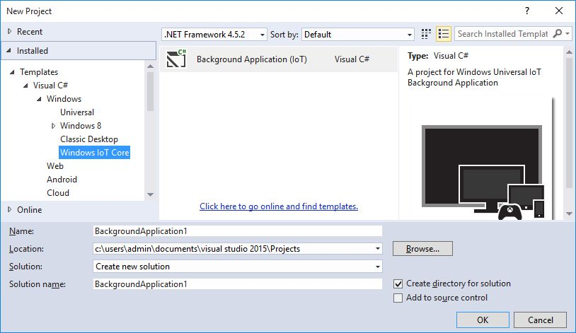 Windows IoT Core Project Templates - Visual Studio Marketplace