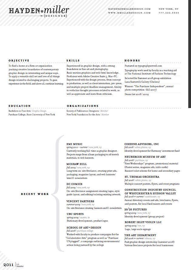 17 best Clean Resumes images on Pinterest   Resume layout, Resume ...
