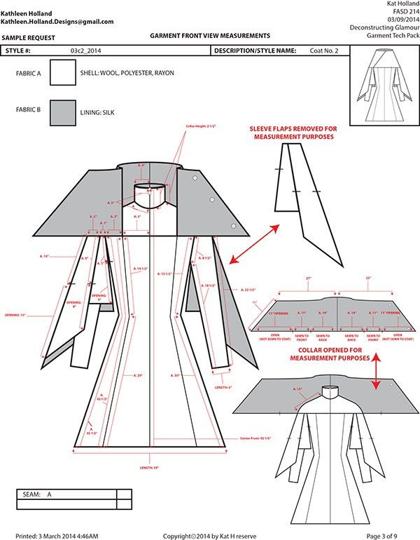 Fashion Apparel Tech Pack Templates | My Practical Skills ...
