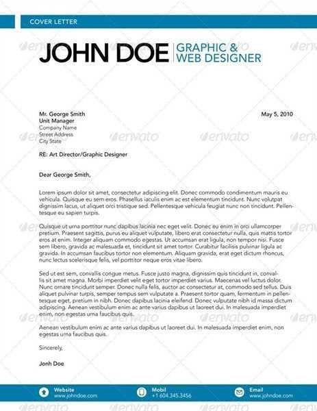 Cover letter fashion designer | Cover letter