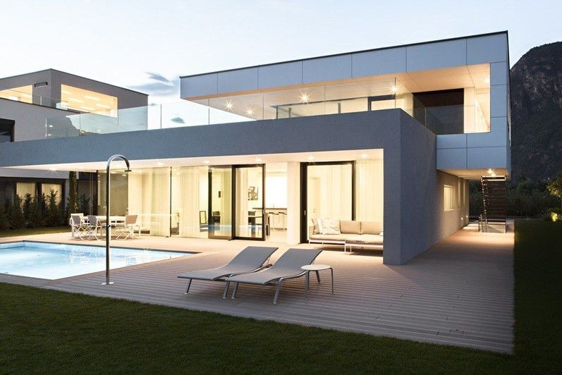 Trend Decoration House Architectural Design For And White ...