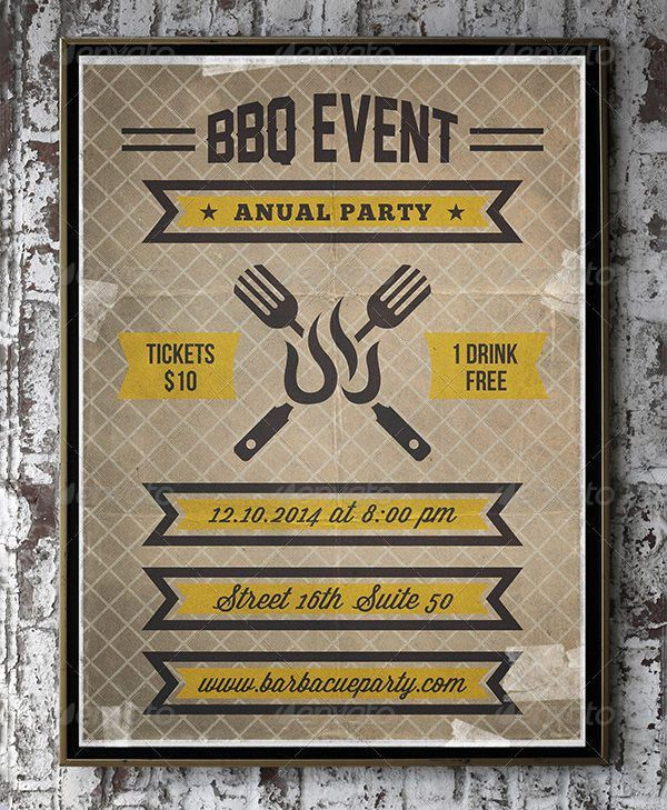 40+ BBQ Invitation Templates | Free & Premium Templates | Free ...