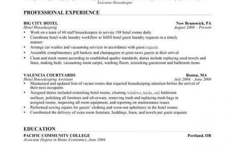 appealing housekeeping supervisor resume 6 supervisor resume ...