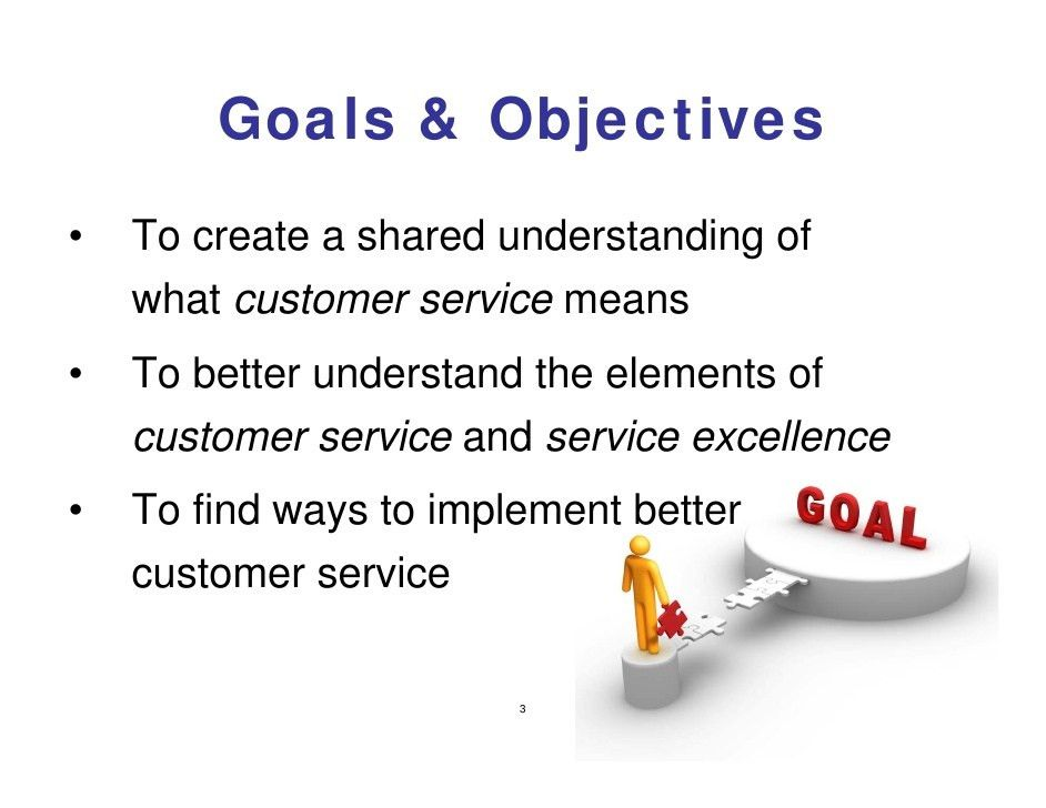 Resume Objectives Examples Customer Service Training ...