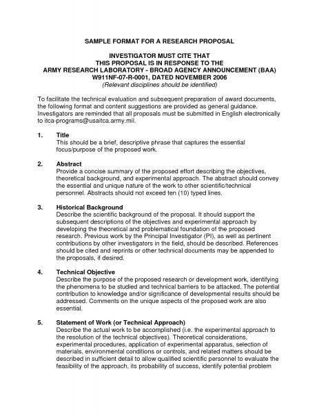 Sample Academic Research Proposal U2013 Apreender
