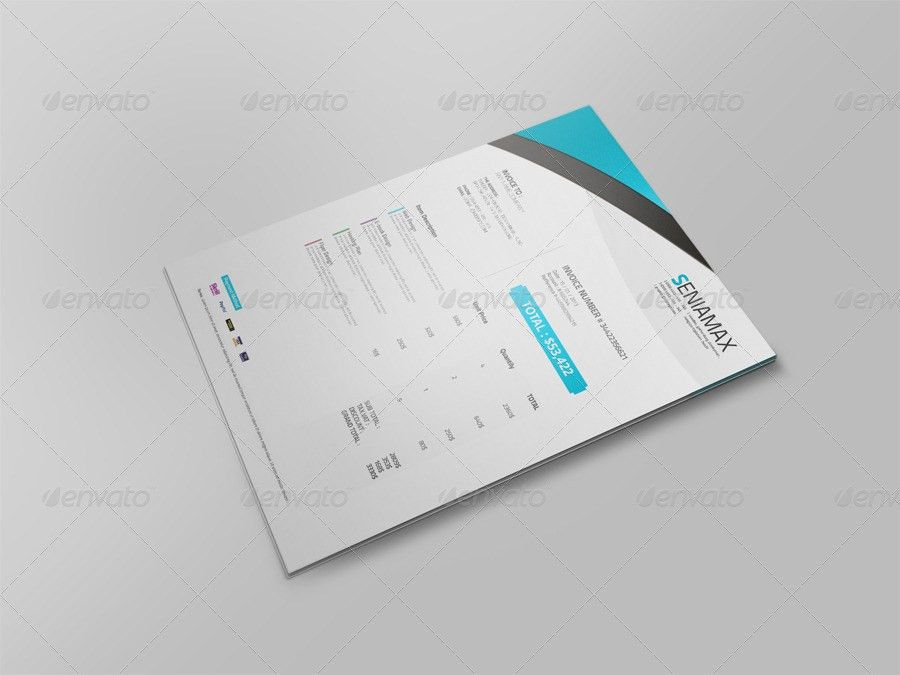 Professional Invoice Template Vol.3 by msadesign | GraphicRiver