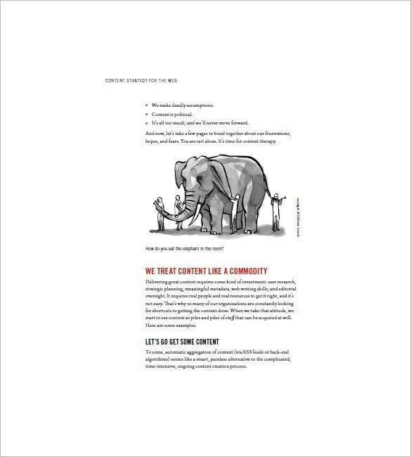 Content Marketing Plan Template – 10+ Free Sample, Example, Format ...