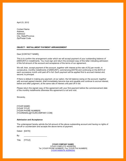 10+ payment agreement letter | resume format pdf